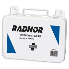 <strong>Radnor</strong> Person Vehicle First Aid Kit In Metal Case