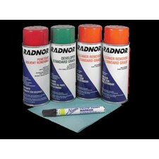 Standard Inspection Kit (Contains 1 Penetrant, 1 Developer, 2 Cleaner)