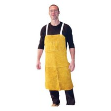 "X 36"" Leather Bib Apron"