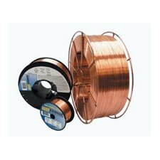 "0.035"" ER70S-6 Radnor® P/3™ S-6 Copper Coated Carbon Steel MIG Welding Wire 11 lbs 8"" Plastic Spool"