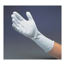 "14"" Light-Weight Cotton Unhemmed Reversible Inspection Glove"