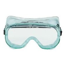 Vent Chemical Splash Goggles With Clear Soft Frame And Clear Lens