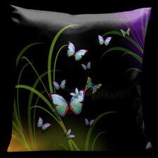 Chocolate Royale Square Satin Pillow