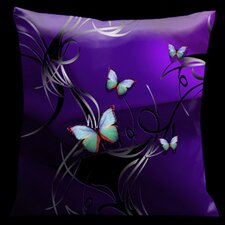 Butterflies Tropical Pillow