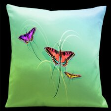 <strong>Lama Kasso</strong> Butterflies Pillow