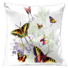 Butterflies and Beauty Pillow