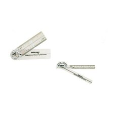 Hires 180 Degree Clear Plastic Pocket Goniometer