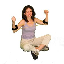 Exercise Tubing with Ankle Cuffs Exerciser