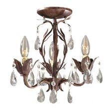 Bijoux 3 Light Chandelier