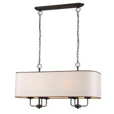 Colonial 6 Light Kitchen Island Pendant