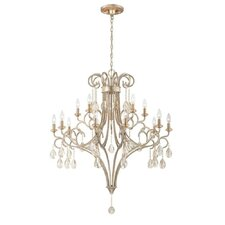 Caruso 15 Light Candle Chandelier