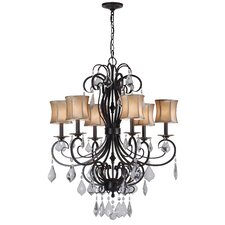 Annelise 6 Light Crystal Chandelier