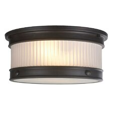 Nikolai 2 Light Flush Semi Mount