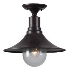 Brandon 1 light Semi Flush Mount