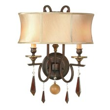<strong>World Imports</strong> Turin 2 Light Wall Sconce