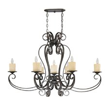 Stafford Spring 7 Light Chandelier