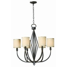 <strong>World Imports</strong> Decatur 6 Light Chandelier