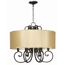 Rue Maison 6 Light Chandelier