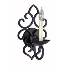 <strong>World Imports</strong> Urban Colonial 1 Light Wall Sconce