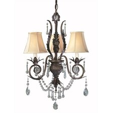 Berkeley Square 3 Light Chandelier