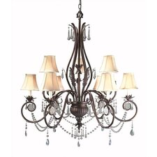 <strong>World Imports</strong> Berkeley Square 9 Light Chandelier