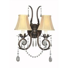 Berkeley Square 2 Light Wall Sconce