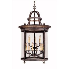French Country Influence 9 Light Hanging Lantern
