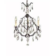 Timeless Elegance 3 Light Chandelier