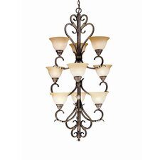 Olympus Tradition 9 Light Chandelier