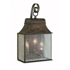 <strong>World Imports</strong> Outdoor 3 Light Hanging Wall Mount Lantern