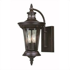 Old World Charm 2 Light Outdoor Wall Mount Lantern