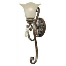 Dressy Casual 1 Light Wall Sconce