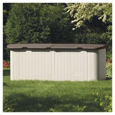 7.5ft. W x 3ft. D Resin Tool Shed