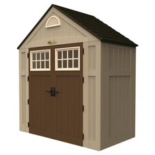Alpine 7.5 Ft. W x 3.5 Ft. D Resin Storage Shed