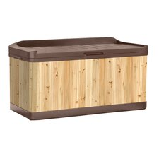 120 Gallon Cedar Deck Box