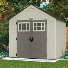 "Tremont 8'38"" W x 7'15"" D Resin Storage Shed"