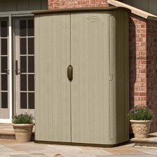 "5'10.5"" W x 2'6"" D Resin Storage Shed"