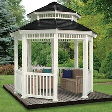 Double Roof 10' W x 10' D Gazebo