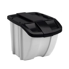 Storage Trends 18 Gallon Stacking Bin (Set of 2)