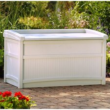 Resin 50 Gallon Deck Box with Seat
