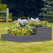 Tiered Raised Square Garden Bed Planter