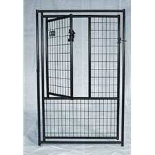 Lucky Dog Pet Gate within Powder Coated Gate