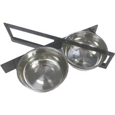 <strong>Jewett Cameron</strong> Lucky Dog Turn-Style 2 Pet Bowl System