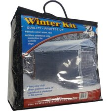 Lucky Dog Winter Screen Kit side cloth