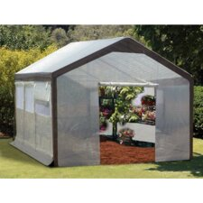 Spring Gardener 9' H x 10' W x 20' D Polyethylene 8 mm Gable Greenhouse