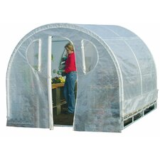 "Weatherguard 6' 6"" H x 8.0' W x 8.0' D Polyethylene 8 mm Greenhouse"