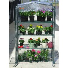 "Early Start 40"" W x 20"" D PVC Growing Rack Greenhouse"