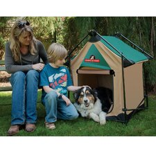Lucky Dawg-e-Tent Dog House