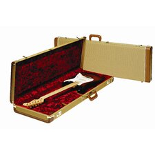 Deluxe Stratocaster / Telecaster Case with Red Plush Interior