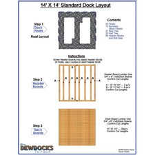 "168"" x 168"" Standard Dock Layout"